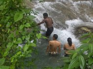 Mayfield Falls Climb from Montego Bay