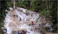 Dunn's River Falls, Martha Brae Rafting & Shopping Tour MoBay.